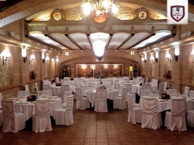 Salón nupcial Restaurante Mesón Don Pelayo
