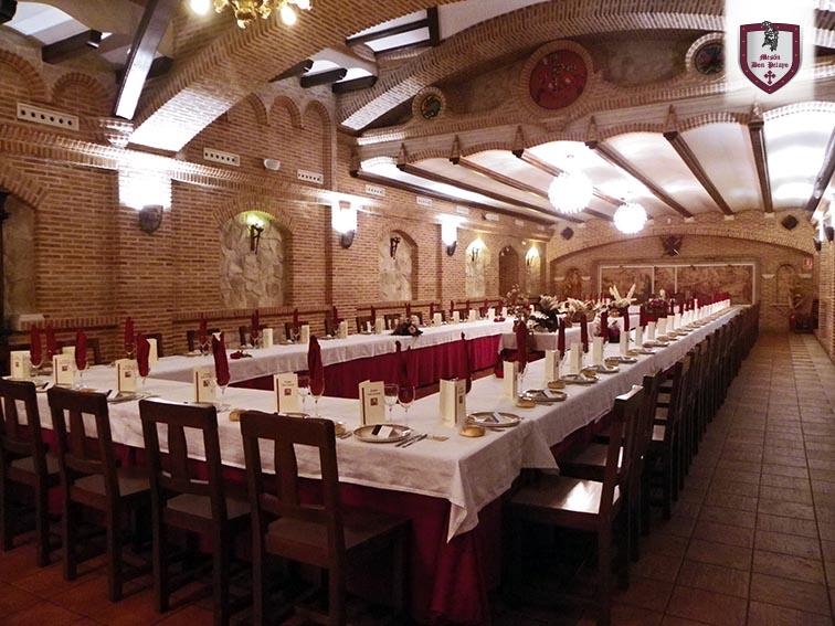 Salón: Nupcial | Restaurante Mesón Don Pelayo