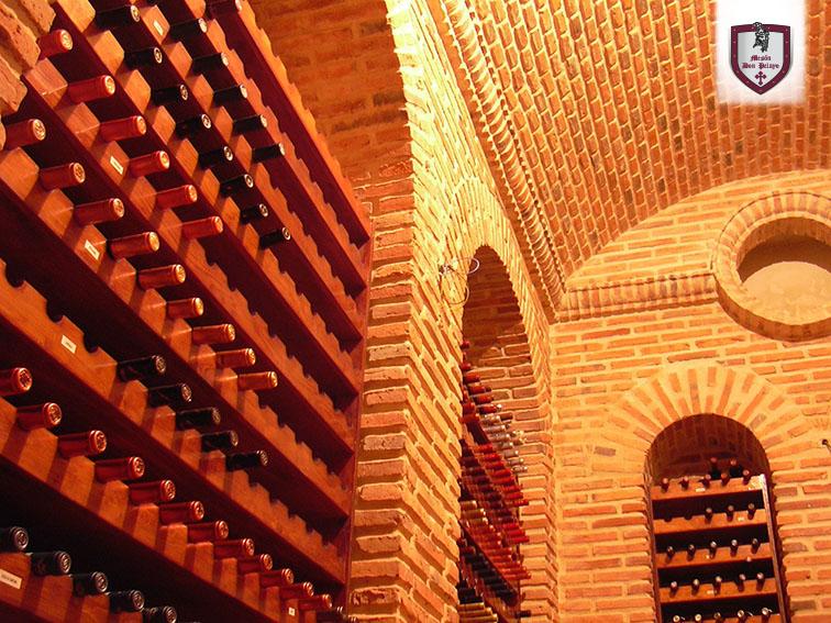 Bodega detalle Restaurante Mesón Don Pelayo