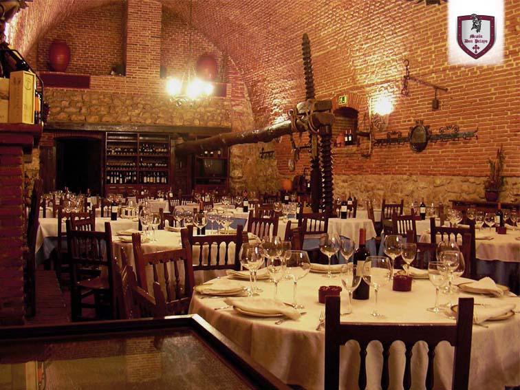 Salón: El Lagar | Restaurante Mesón Don Pelayo